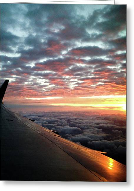 Cloud Sunrise Greeting Card