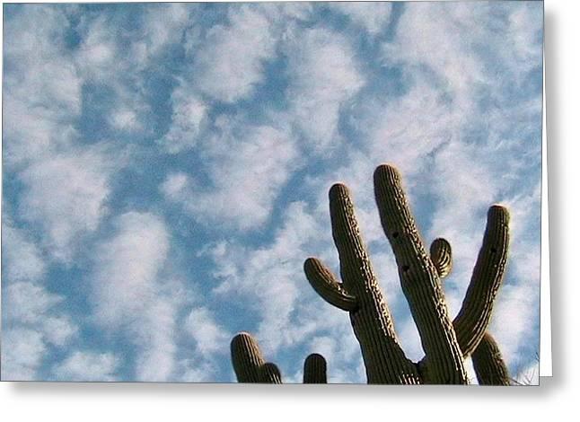 Cloud Watchers 2 Greeting Card