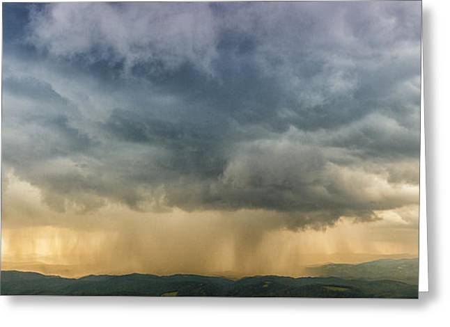 Storm Clouds - Blue Ridge Parkway Greeting Card