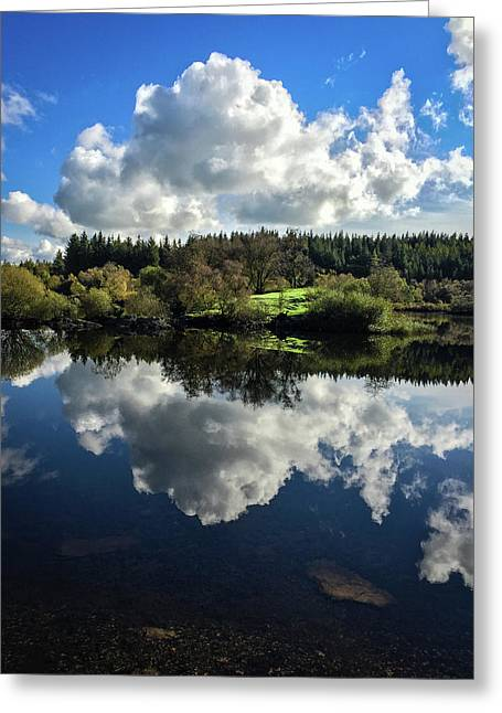 Greeting Card featuring the photograph Clouded Visions by Geoff Smith