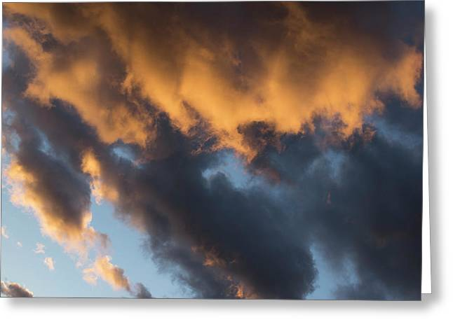Clouds-161122-84 Greeting Card