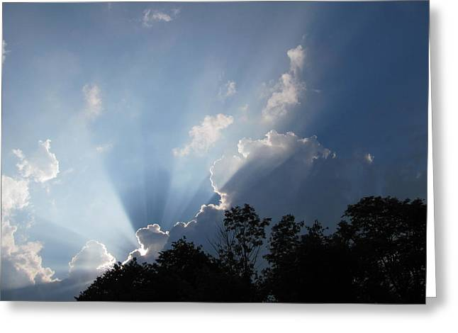 Greeting Card featuring the photograph Clouds 7 by Douglas Pike