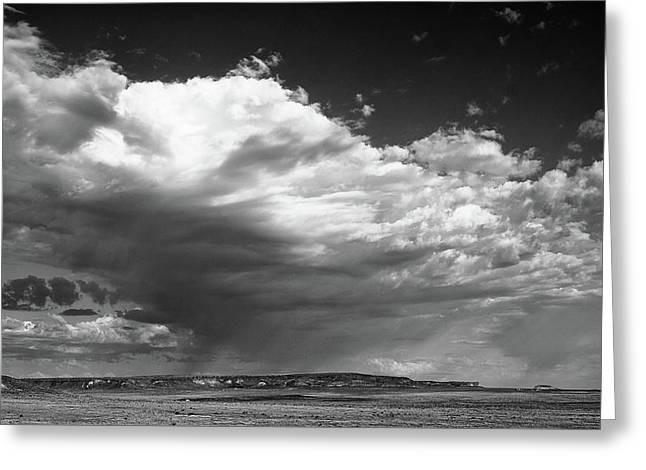 Greeting Card featuring the photograph Clouds Along Indian Route 13 by Monte Stevens