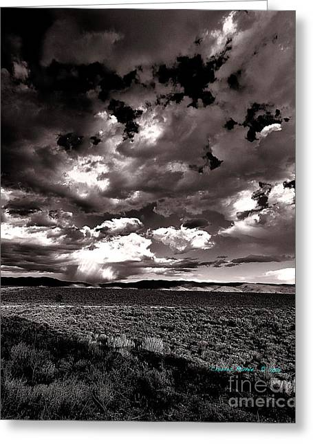 Clouds At Sunset X Greeting Card by Charles Muhle