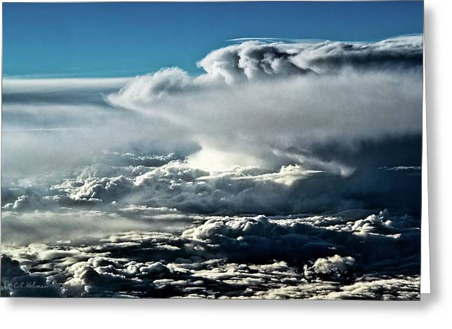 Christopher Holmes Greeting Cards - Clouds Greeting Card by Christopher Holmes
