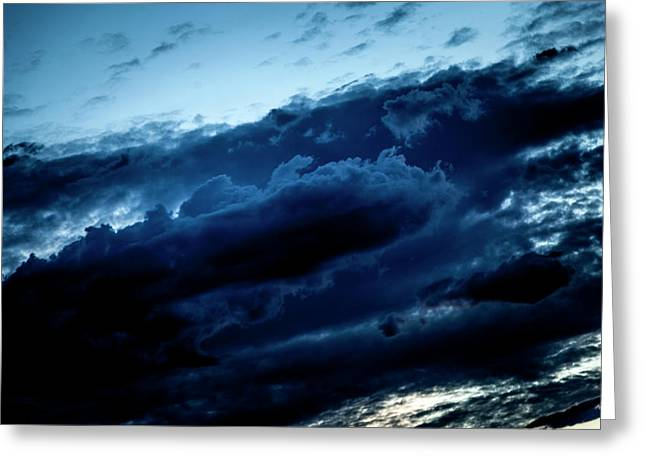 Clouds Fall Greeting Card