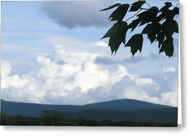 Clouds Greeting Card by James and Vickie Rankin