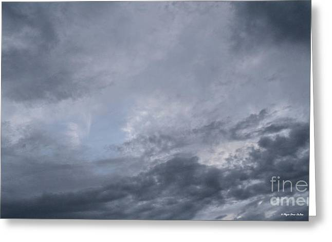 Greeting Card featuring the photograph Clouds by Megan Dirsa-DuBois