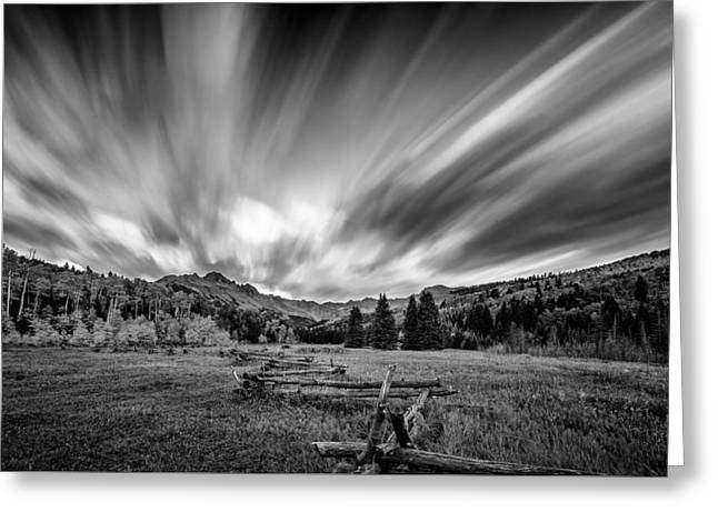 Clouds Of Colorado Greeting Card