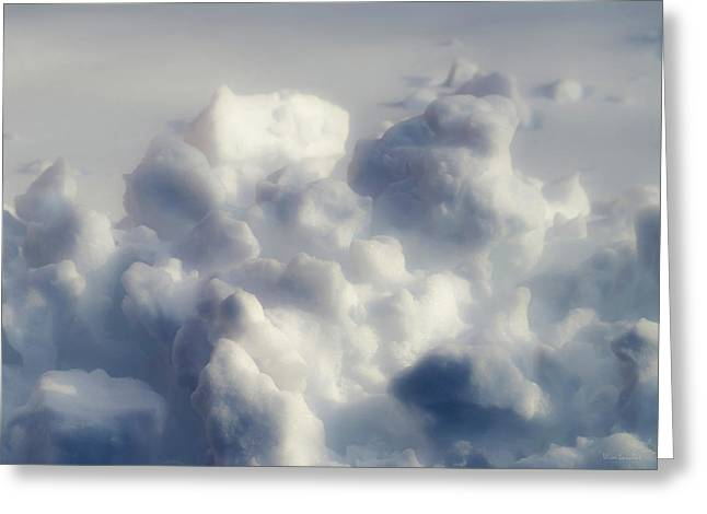 Clouds Of Snow Greeting Card