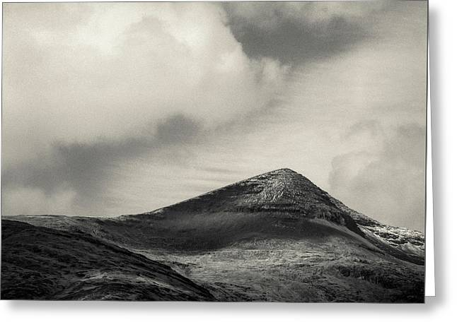 Clouds Over Ben More Greeting Card