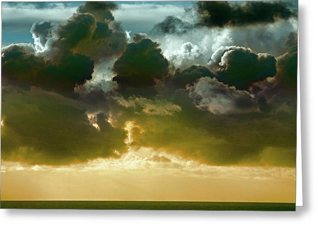 Clouds Over El Pacifico Greeting Card