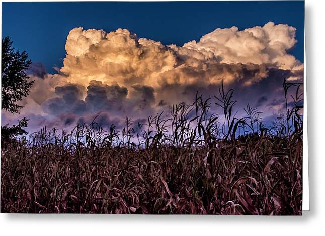 Clouds Over Fagagna Greeting Card