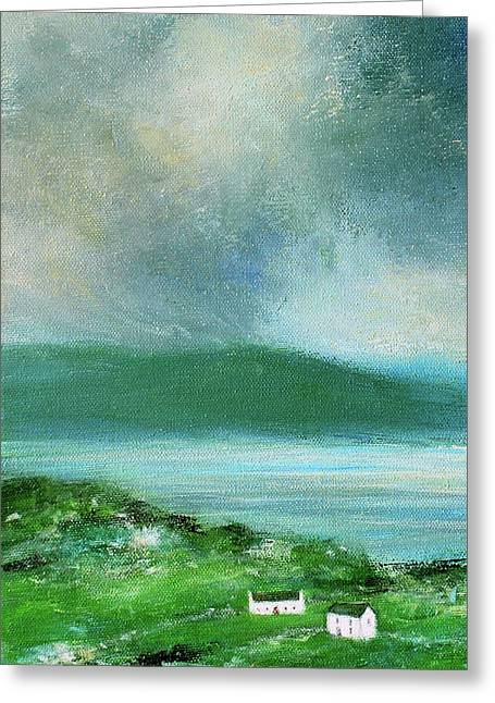 Clouds Over Malin Head, Donegal Greeting Card