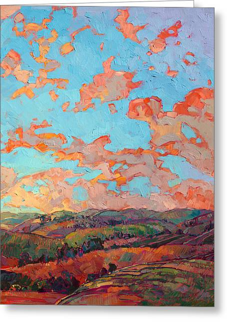 Clouds Over Paso II Greeting Card