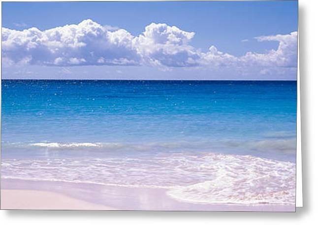 Clouds Over Sea, Caribbean Sea Greeting Card