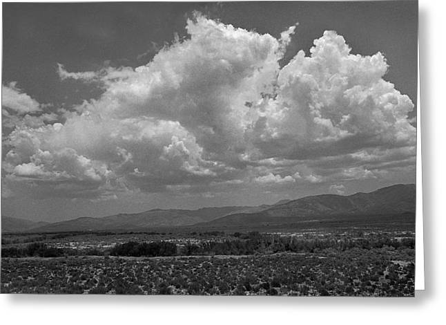 Clouds Over The Karoo Greeting Card