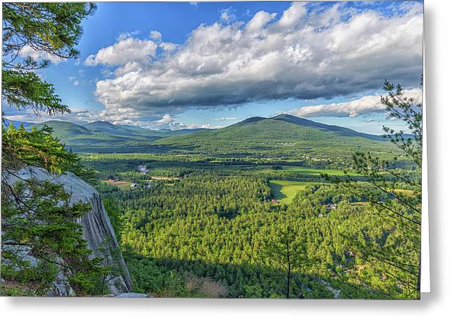 Clouds Over The Mountains Greeting Card by Brian MacLean