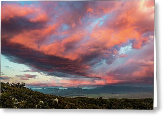 Clouds Over Warner Springs Greeting Card
