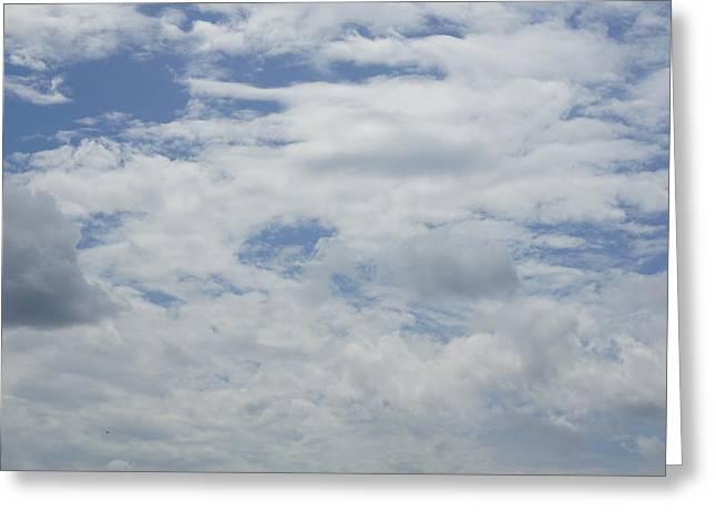 Clouds Photo IIi Greeting Card