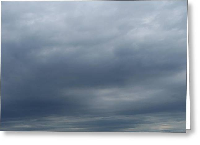 Clouds Greeting Card by Rosanne Bartlett