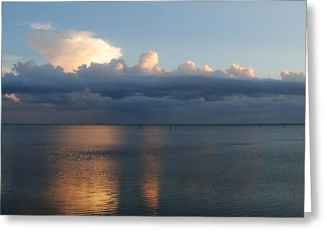 Clouds Greeting Card by Steven Scott
