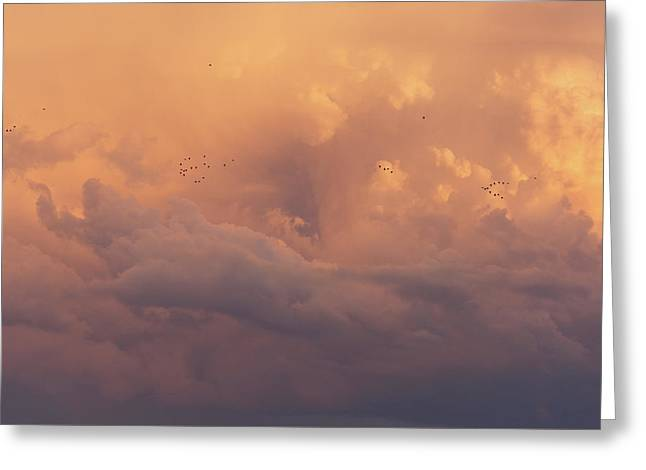 Greeting Card featuring the photograph Cloudscape by Dustin LeFevre
