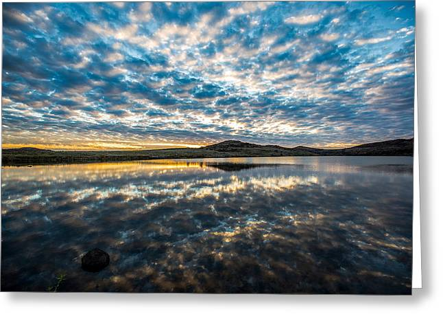 Cloudscape Greeting Card by Sean Ramsey