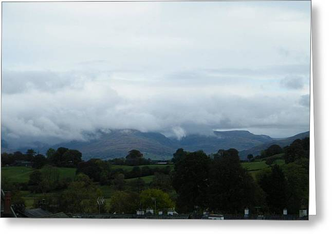 Cloudy View Greeting Card