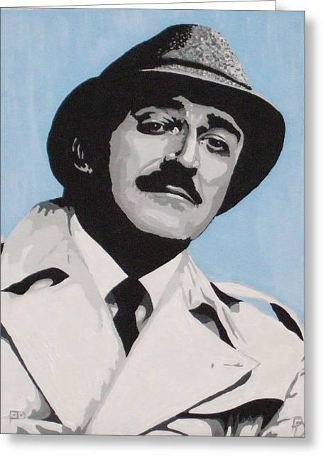 Clouseau Greeting Card by Pete Davidson
