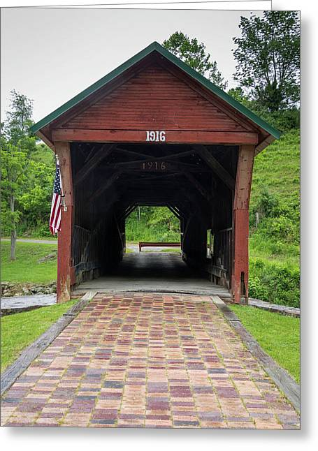 Clover Hollow Covered Bridge 04 Greeting Card
