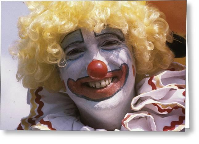 Clown-1 Greeting Card