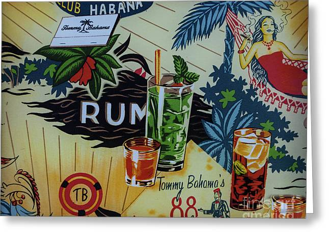 Club Habana Greeting Card