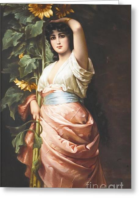 Clytie  Late Greeting Card