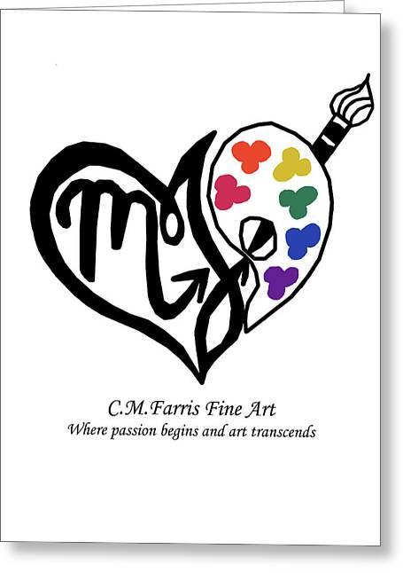 Cmfarris Logo Brand Greeting Card