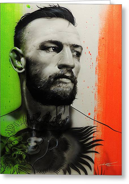 Conor Mcgregor - ' C. M. G. ' Greeting Card