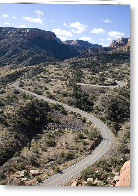 Cnm Switchbacks Full Color Greeting Card by Dylan Punke