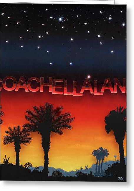 Coachellaland Greeting Card
