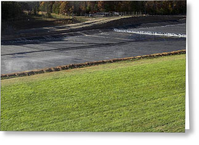 Coal Ash Dust Dumping At Asheville Regional Airport - Westside Development Fill Project Greeting Card
