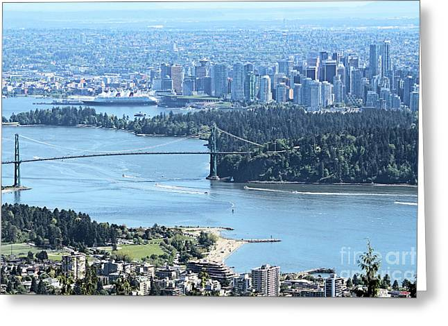 Coal Harbour Greeting Card