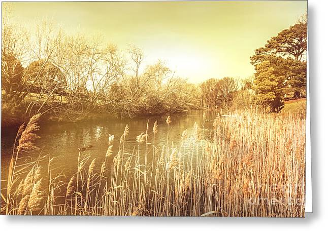 Coal River Richmond Greeting Card