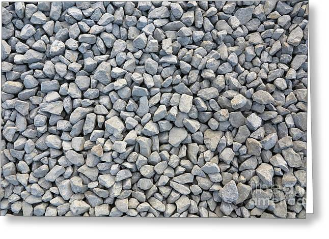 Coarse Gravel Greeting Card