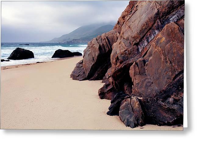 Coast, Garrapata Beach Greeting Card