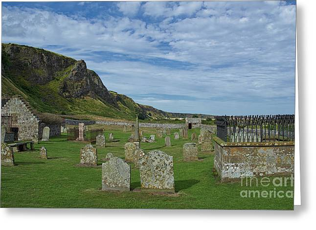 Coast Graveyard Greeting Card by Julian Walters