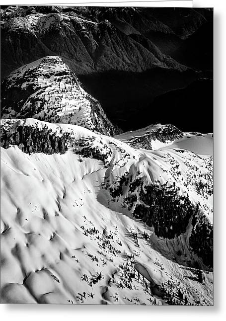 Coast Mountain Spring Greeting Card
