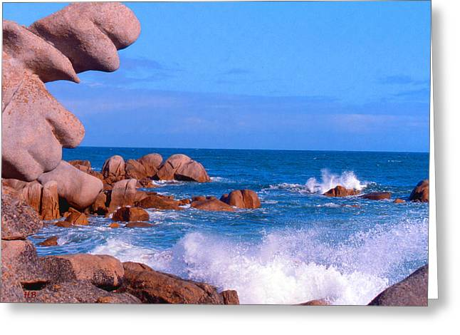 Coast Of Brittany Greeting Card