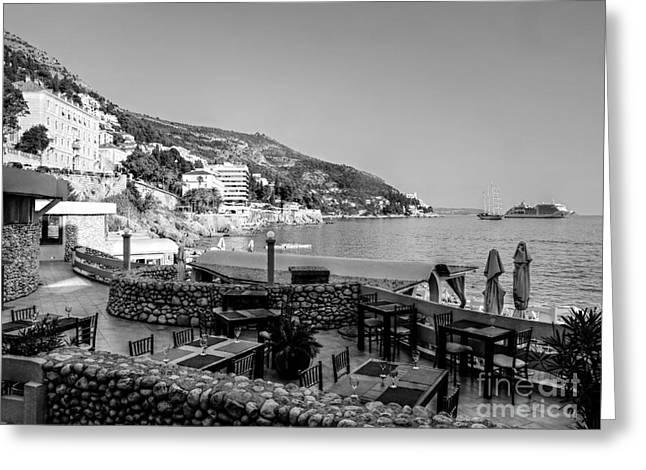 Coast Of Dubrovnik Greeting Card
