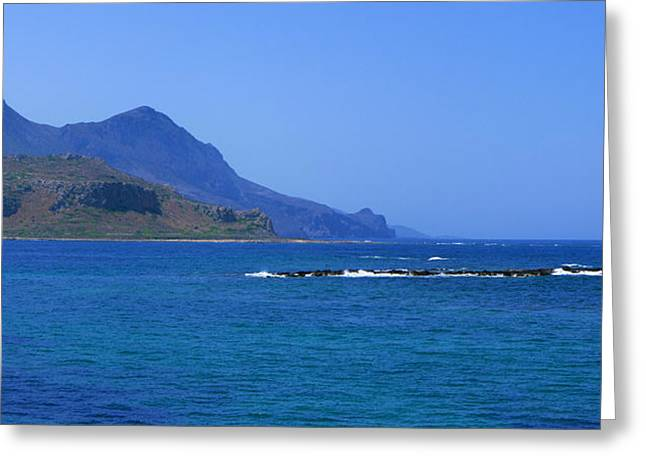 Coast Of Gramvousa Greeting Card