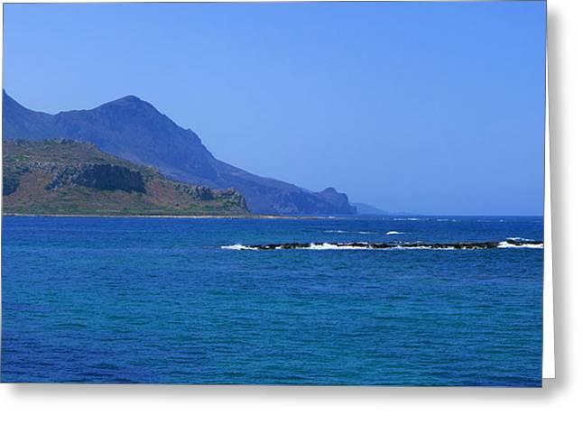 Coast Of Gramvousa Greeting Card