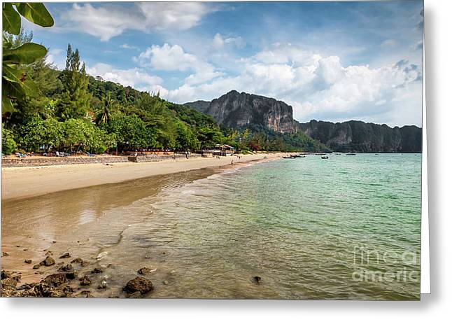 Coast Of Ko Lanta Greeting Card